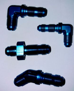 AN Bulkhead fittings